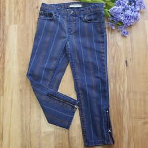 Ralph Lauren Proprietor Jeans w/ Zippers on Leg